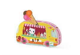 Puzzle Eiscremewagen