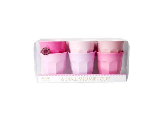 """rice Becher 6er Set """"Pink"""""""