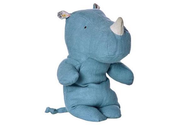 Safari friends, small Rhino - blue