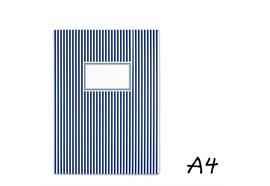 Sammelmappe Gestreift dunkelblau A4