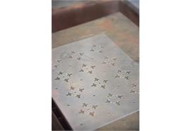 Schablone - Vierblättriges Kleeblatt