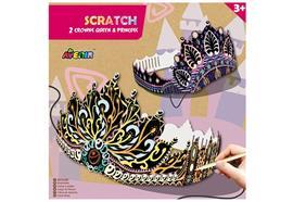 Scratch Crowns Queens