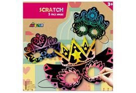 Scratch Face Masks