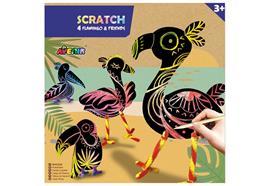 Scratch Flamingo & Friends