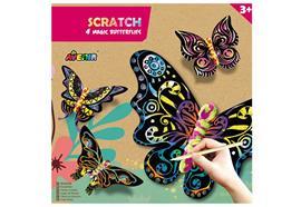 Scratch Magic Butterflies