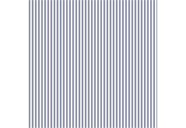 Serviette blaue Streifen