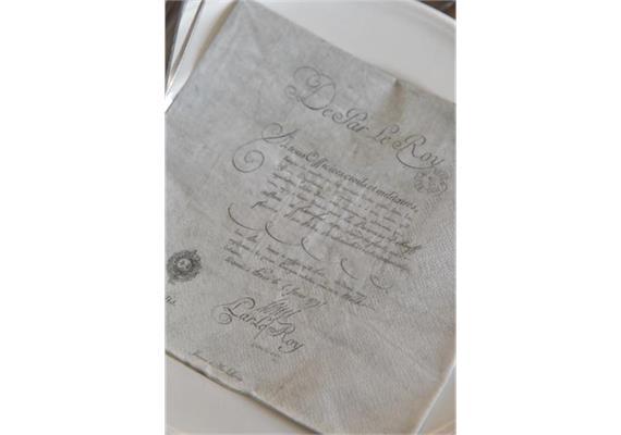 Servietten Dokument