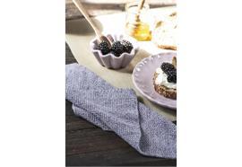 Spüllappen Mynte lavendel melange gestrickt