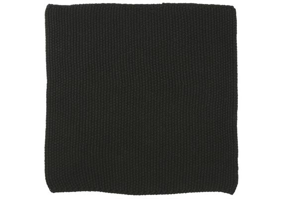 Spüllappen Mynte pure black gestrickt