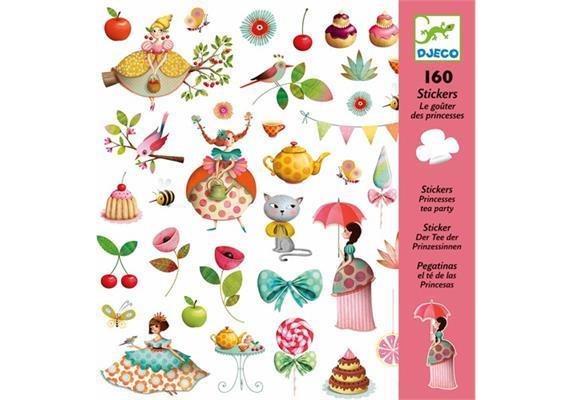 Sticker Prinzessinnen Teeparty