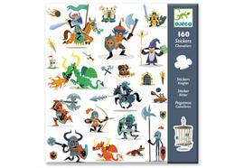 Sticker Ritter 160 Stück