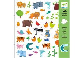 Sticker Tiere 160 Stück