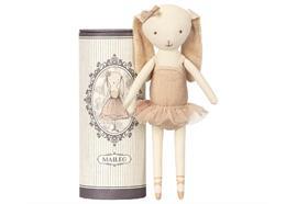 Tanzender Ballerina-Hase in hübscher Geschenkverp.