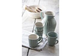 Tasse mit Henkel Mynte Green Tea