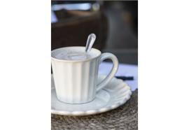 Tasse mit Henkel Mynte Pure White