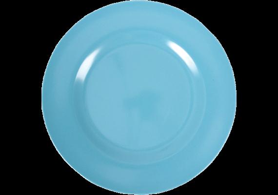 Teller uni - Turquoise