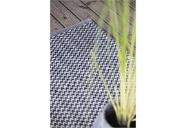 Teppich gemustert Recyclingplastik