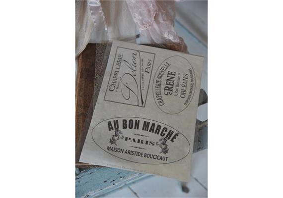 "Transferbilder ""Au Bon Marché"""