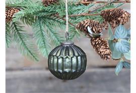 Weihnachtskugel moosgrün