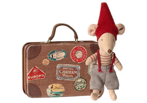 Weihnachtsmaus im Koffer, kleiner Bruder