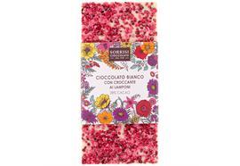 Weisse Schokolade 28% Kakao, Himbeeren