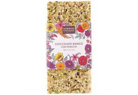 Weisse Schokolade 28% Kakao, Pistazien